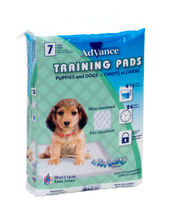 Coastal Advance Dog Training Pads with Turbo Dry Technology NCL Color 23 X 24 Inch 7 Count