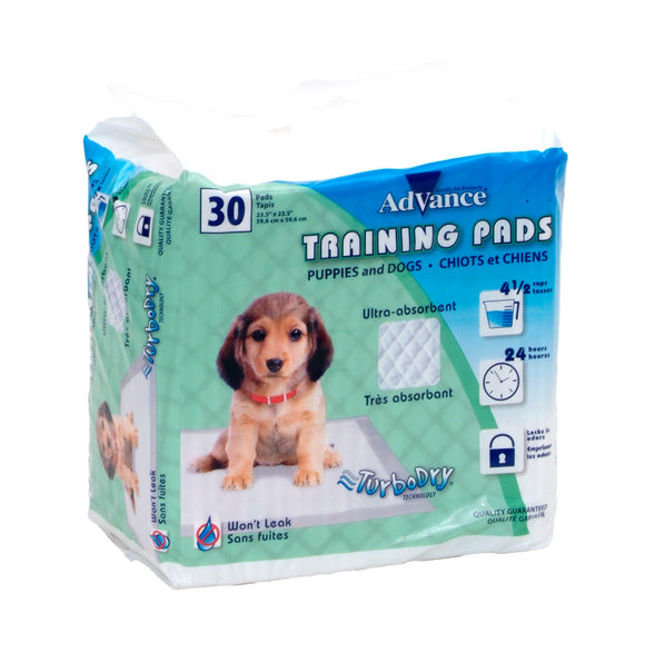 Coastal Advance Dog Training Pads with Turbo Dry Technology NCL Color 23 X 24 Inch 30 Count