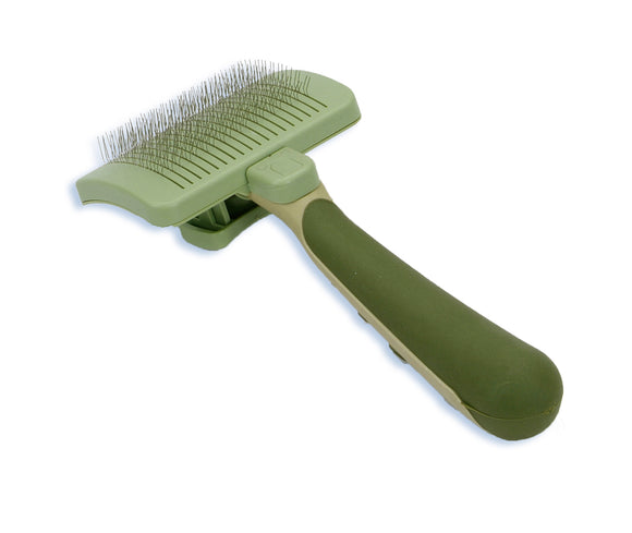 Coastal Safari Self-Cleaning Slicker Brush for Dog NCL Color Medium