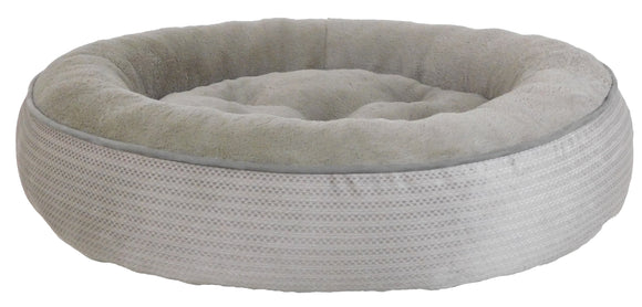 Arlee Pet Products Duncan Dunkin Dog Bed Gravel Grey 36 x 27 x 7 Inch