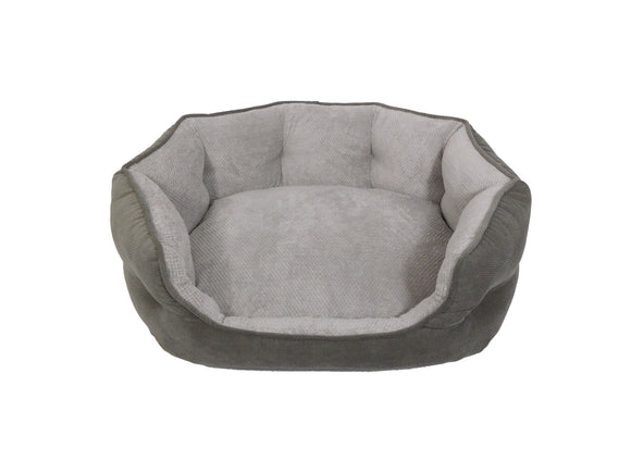 Arlee Home Fashions OrthoLux Hudson Ortho Cozy for Dog Charcoal Grey Medium