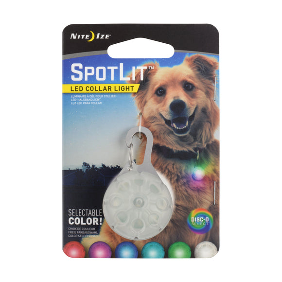 Nite Ize Spotlit Collar Light - Disc-O Select 1.3 X 2.1 X 0.8 Inch