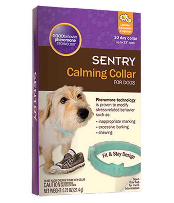 Sentry Calming Collar for Dog 1 Count