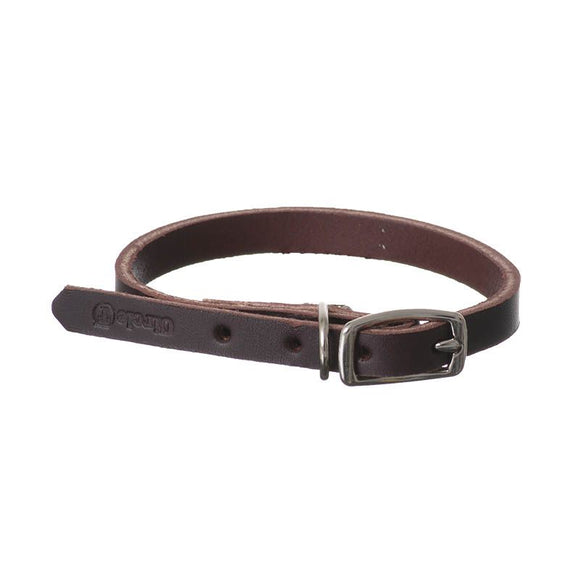 Circle T Latigo Leather Town Collar (210312BG)