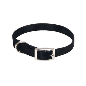 Coastal Pet Single Nylon Collar - Black (40112BK)