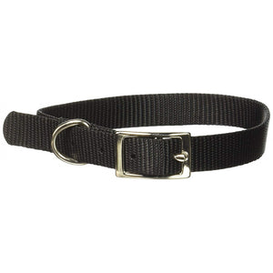 Coastal Pet Single Nylon Collar - Black (40116BK)