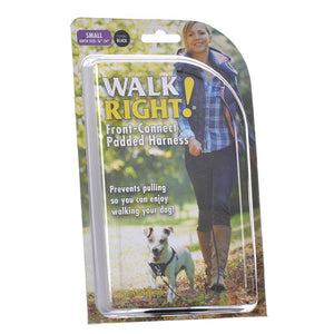 Coastal Pet Walk Right Padded Harness - Black (6162 SML B)