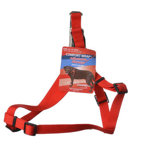 Tuff Collar Comfort Wrap Nylon Adjustable Harness - Red (6945R)