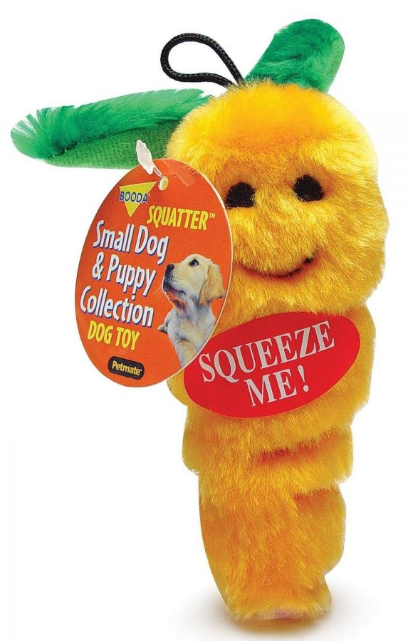 Booda Soft Bite Carrot Dog Toy (7545)