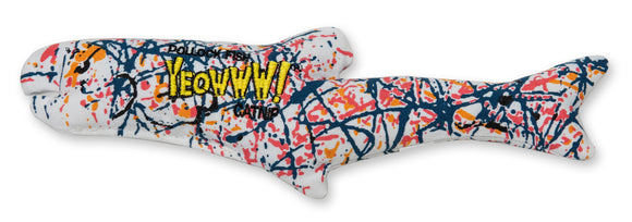 Ducky World Yeowww! Pollock Fish Catnip Toy