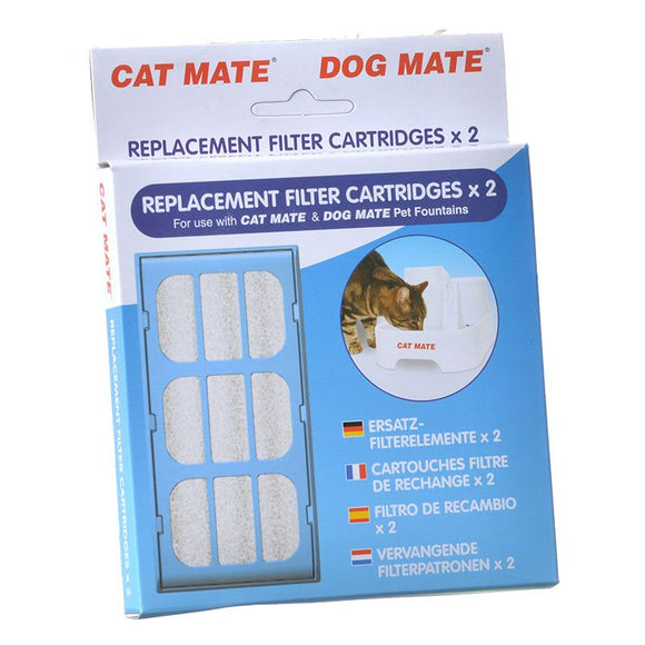 Cat Mate Replacement Filter Cartridge for Pet Fountain (339)