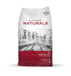 Diamond Naturals Indoor Cat Chicken & Rice Formula 6 Lbs