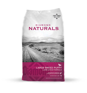Diamond Naturals Large Breed Puppy Lamb, Rice & Vegetable Formula 6 Lbs