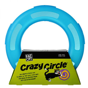 Petmate Crazy Circle Cat Toy - Blue (29398)