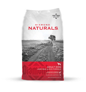 Diamond Naturals Adult Dog Lamb Meal & Rice Formula 6 Lbs