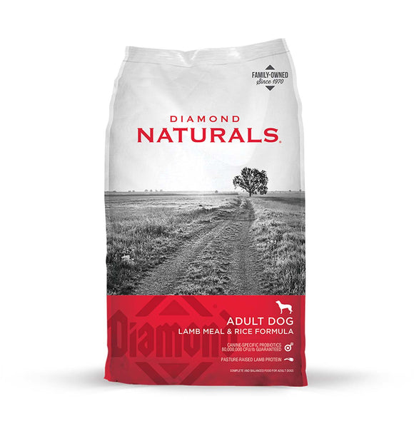 Diamond Naturals Adult Dog Lamb Meal & Rice Formula 20 Lbs