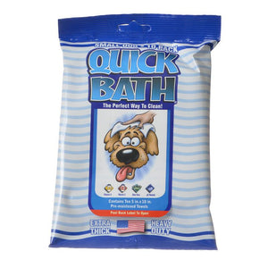 International Vet Quick Bath Wipes for Dogs (1086)