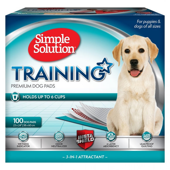 Simple Solution Training Premium Dog Pads (11315)