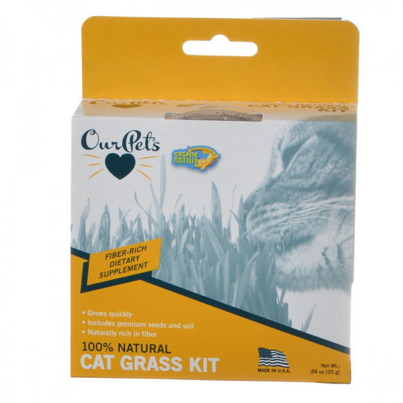 OurPets Cosmic Catnip Kitty Cat Grass (1050011782)
