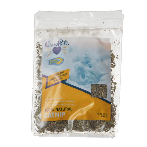 OurPets Cosmic Catnip 100% Natural Catnip Bag (1050011830)