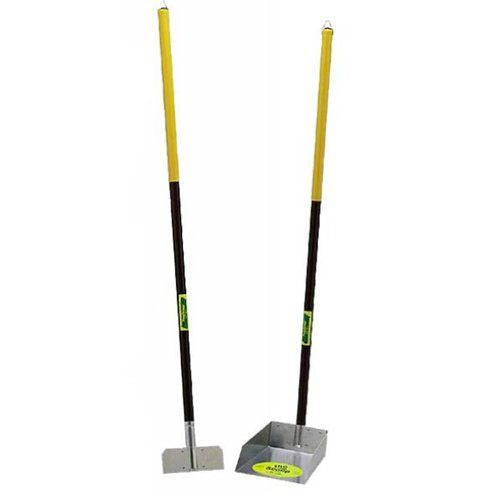 Flexrake The Scoop - Poop Scoop & Spade with Aluminum Handle (67A)