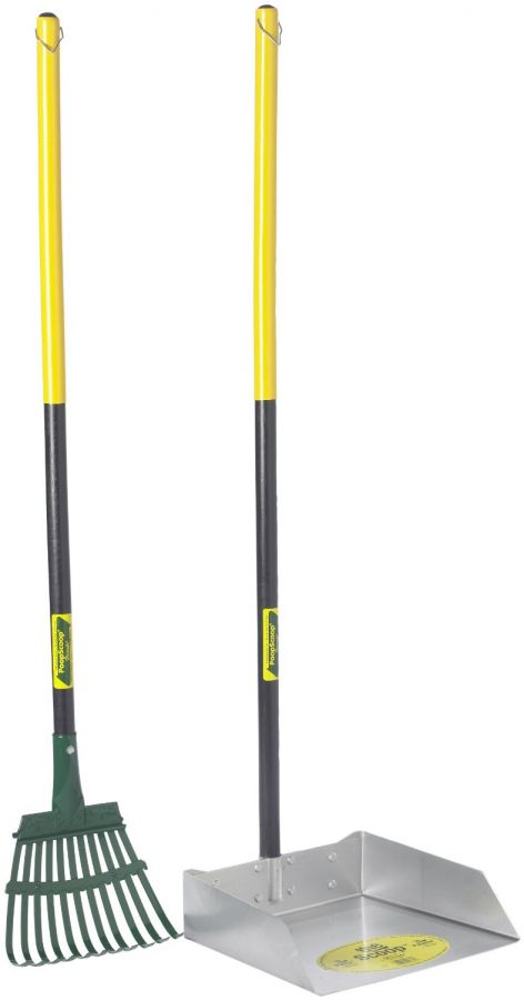 Flexrake Scoop & Rake with Wood Handle (68W)