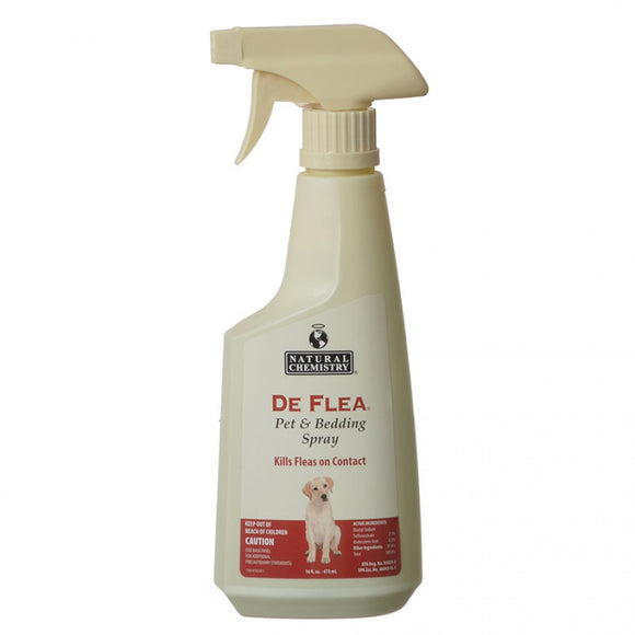 Natural Chemistry De Flea Pet & Bedding Spray (11014)