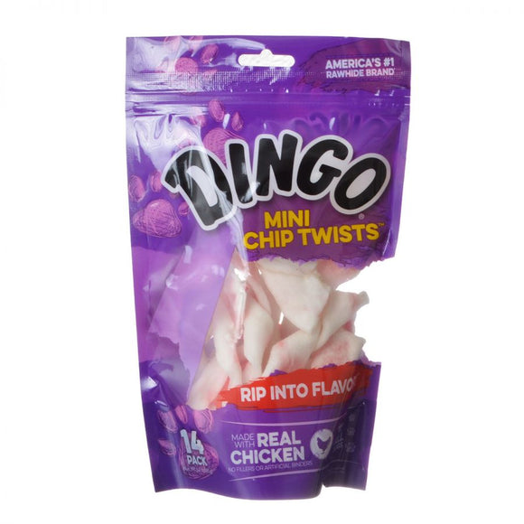 Dingo Chip Twists Meat & Rawhide Chew (30065)