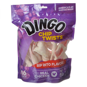 Dingo Chip Twists Meat & Rawhide Chew (99042)