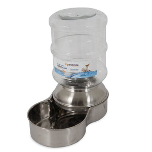 Petmate Replendish Stainless Steel Waterer (24345)