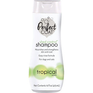 Perfect Coat Shed Control Shampoo - Tropical Scent (I636EA)