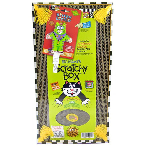Fat Cat Big Mama's Double Wide Scratchy Box (610241)