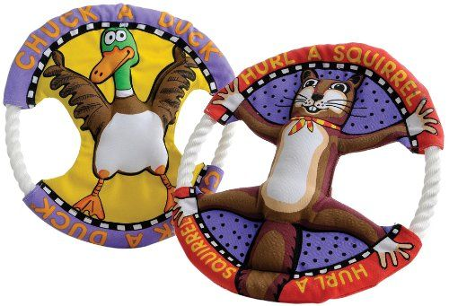 Fat Cat Dog Toy Rings - Assorted (660044)