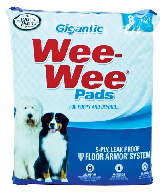 Four Paws Gigantic Wee Wee Pads (100202101)