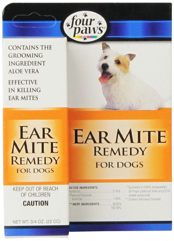 Four Paws Ear Mite Remedy for Dogs (100514898)