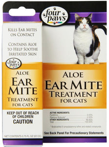 Four Paws Ear Mite Remedy for Cats (100202112)