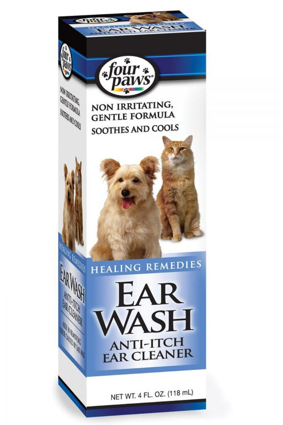 Four Paws Ear Wash Anti-Itch Ear Cleaner (100202113)