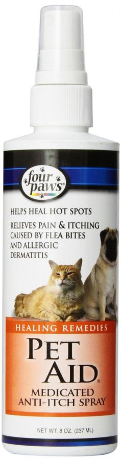 Four Paws Pet Aid Medicated Anti-Itch Spray (100202115)