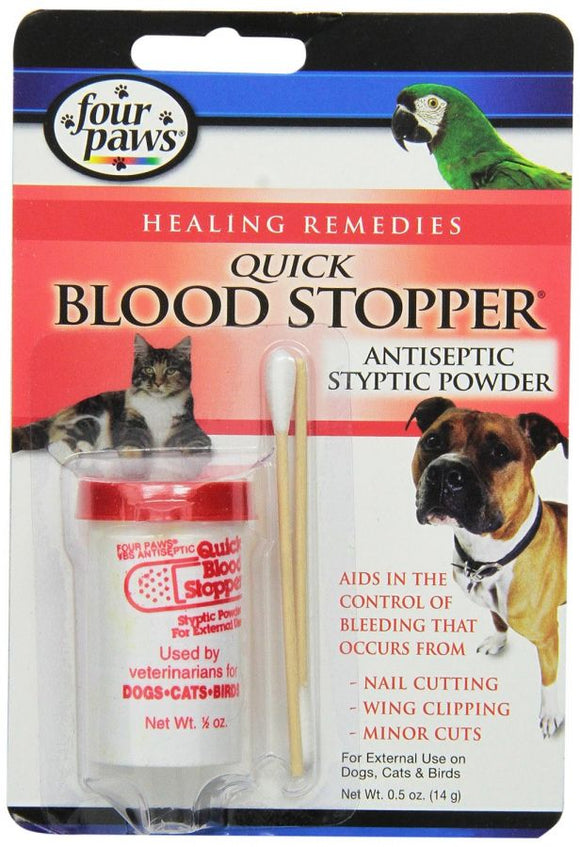 Four Paws Quick Blood Stopper Antiseptic Styptic Powder (100523273)
