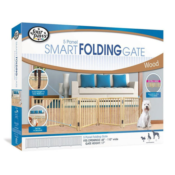 Four Paws Free Standing Gate for Small Pets (100203592)