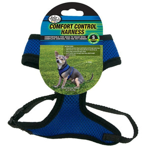 Four Paws Comfort Control Harness - Blue (100203702)