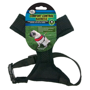 Four Paws Comfort Control Harness - Black (100203705)