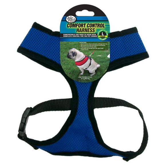 Four Paws Comfort Control Harness - Blue (100203714)