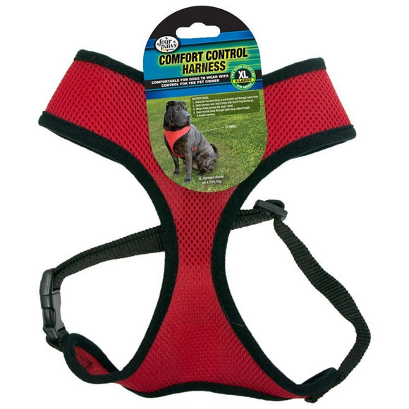 Four Paws Comfort Control Harness - Red (100203719)