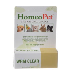 HomeoPet Wrm Clear for Dogs & Cats (G409)