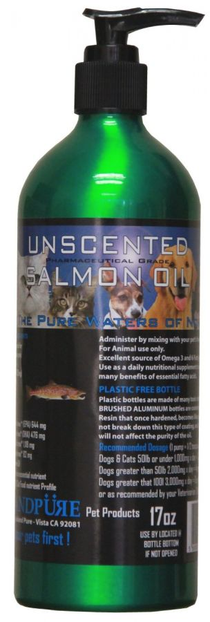Iceland Pure Unscented Pharmaceutical Grade Salmon Oil (315054)