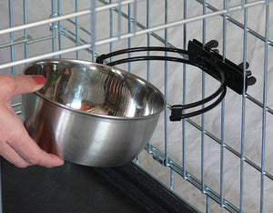 Snap'y Fit Water and Food Bowl for Dog 2 Quart