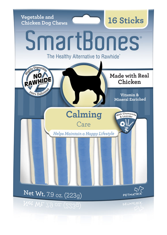 SmartBones Calming Care Chicken Sticks Dog Chew 16 Count