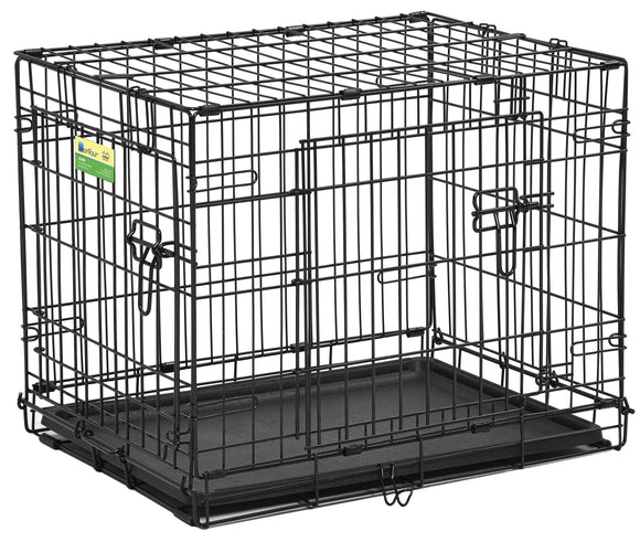 Contour Double Door Dog Crate 24 Inch