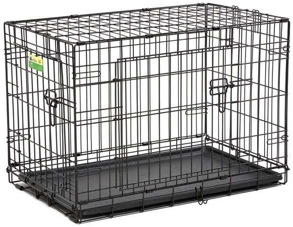 Contour Double Door Dog Crate 30 Inch